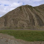 Beautiful fold and fault