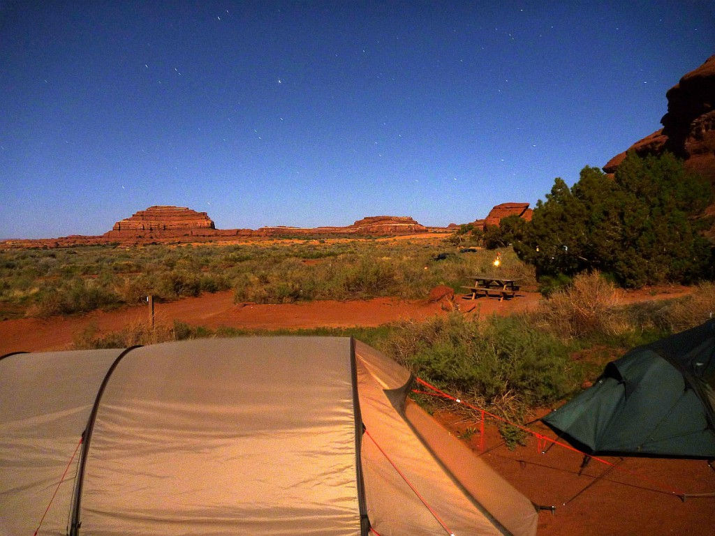 Camping at Needles Outpost, Canyonlöands National Park, Utah