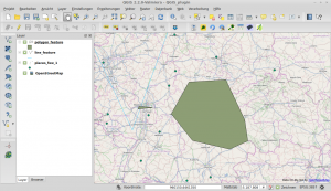 qgis project with layers in EPSG:3857
